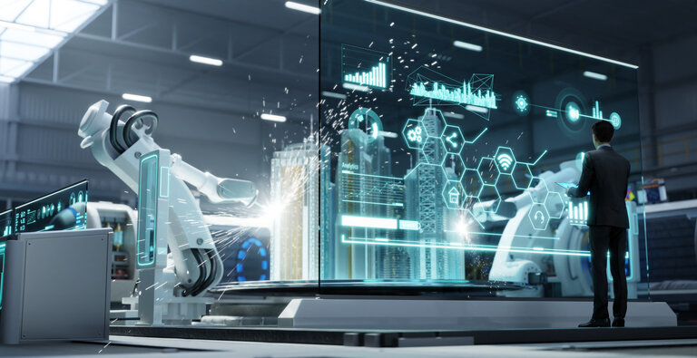 Homme au coeur de l'Intelligence Artificielle